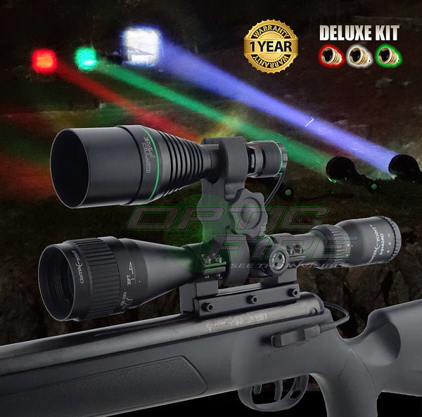XS-50 Deluxe scope mount lamping kit
