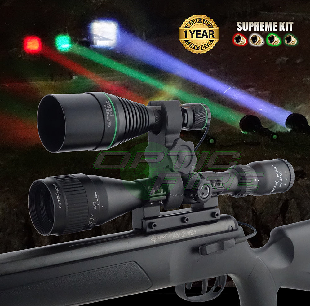 XS-50 Supreme scope mount lamping kit