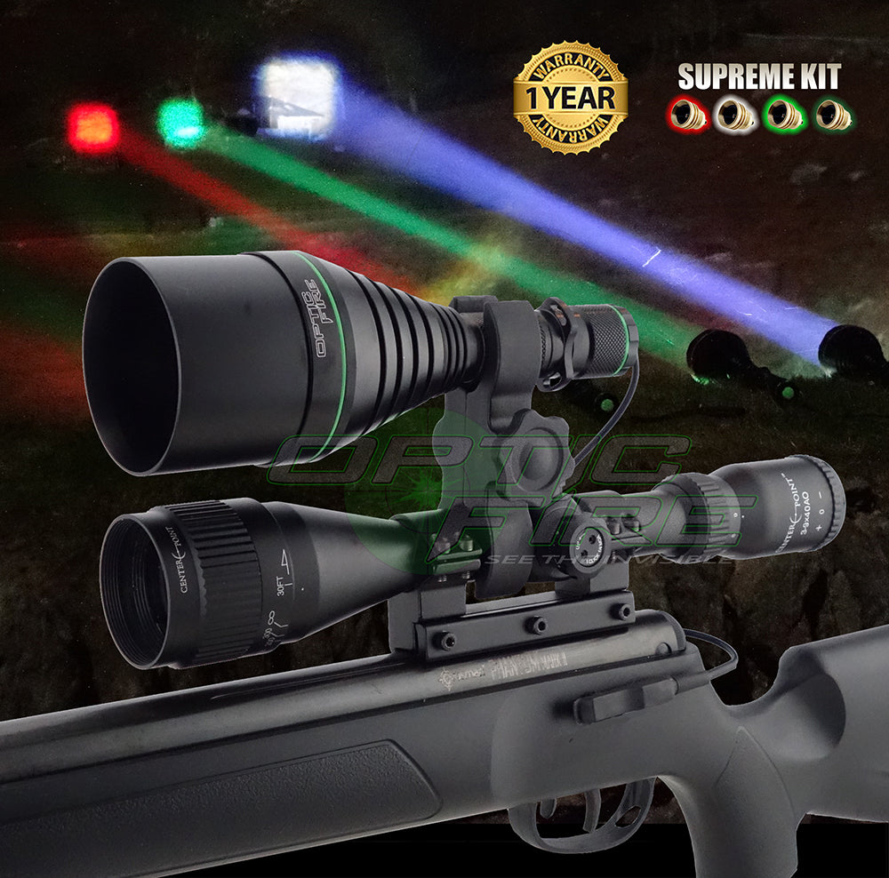 XS-67 Supreme scope mount lamping kit