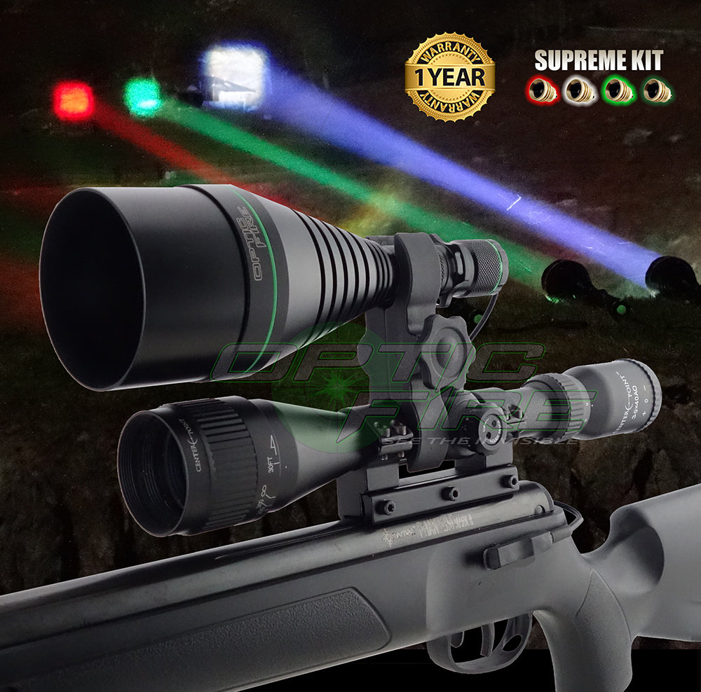 XS-75 Supreme scope mount lamping kit
