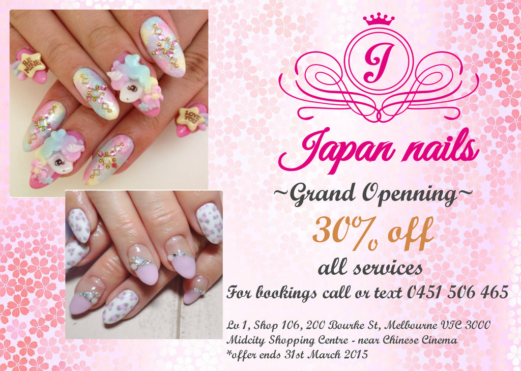 Japanese nail salon Melbourne blog |
