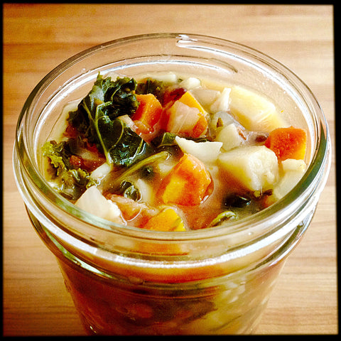 Kale Minestrone Veggie Packed Soup