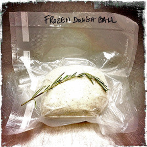 Frozen Dough Ball with Rosemary