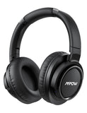 Mpow H18 Active Noise Cancelling Headphone 50 Hours Playing Time 17m/56ft Bluetooth Range With Carrying Case Hi-Fi Audio Bass
