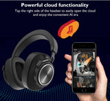 Femperna Bluetooth 5.0 Wireless Headphones For Phones And Music With Face Recognition Earphones Active Noise Cancelling Headset