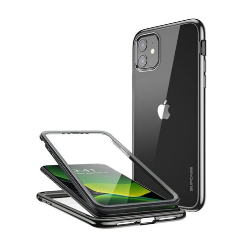 SUPCASE For iPhone 11 Case 6.1 (2019) UB Electro Metallic Electroplated+TPU Full-Body Hybrid Case with Built-in Screen Protector