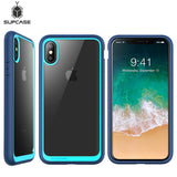 SUPCASE For iphone Xs Case 5.8 inch UB Style Series Premium Hybrid TPU Bumper + Clear Back Phone Cover For iphone X Case