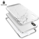 For iPhone Xs Case SUPCASE UB Stella Premium Hybrid Marble Shinning Glitter Case For iPhone X with Built-in Screen Protector