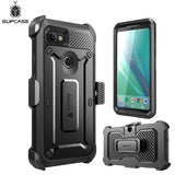 For Google Pixel 2 XL Case SUPCASE UB Pro Full-Body Rugged Holster Clip Protective Case Cover with Built-in Screen Protector
