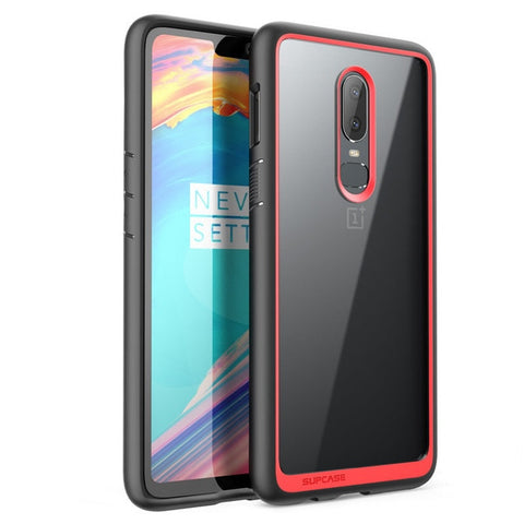 Phone Case For One Plus 6 SUPCASE UB Style Series Anti-knock Premium Hybrid Protective TPU Bumper + PC Cover For One Plus 6 Case
