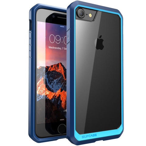 SUPCASE For iphone 8 Case 4.7 inch UB Series Premium Hybrid Protective TPU Bumper + PC Clear Back Case Cover For iPhone 8