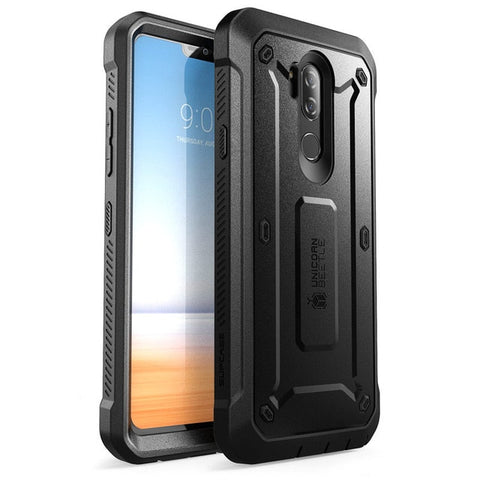 For LG G7 ThinQ Case Cover 6.1 inch SUPCASE UB Pro Full-Body Rugged Holster Clip Protective Case with Built-in Screen Protector