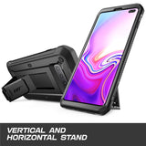 "For Samsung Galaxy S10 Plus Case 6.4"" SUPCASE UB Pro Full-Body Rugged Holster Kickstand Cover WITHOUT Built-in Screen Protector"