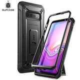 For Samsung Galaxy S10 Case 6.1 inch SUPCASE UB Pro Full-Body Rugged Holster Kickstand Case WITHOUT Built-in Screen Protector