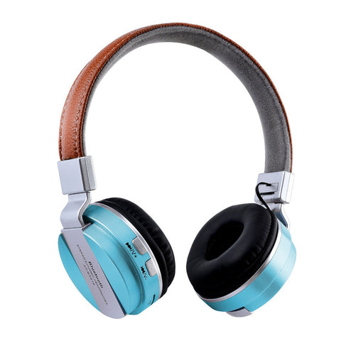 Wireless Headphones Over Ear Stereo Noise Canceling Bluetooth Headset With Microphone TF For Cell Phone 15J Drop Shipping