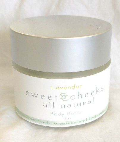 Lavender Shea Body Butter, excellent for chapped skin.