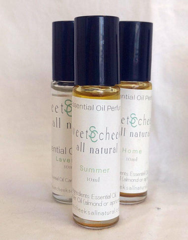 Essential Oil Perfume Blends in , Summer