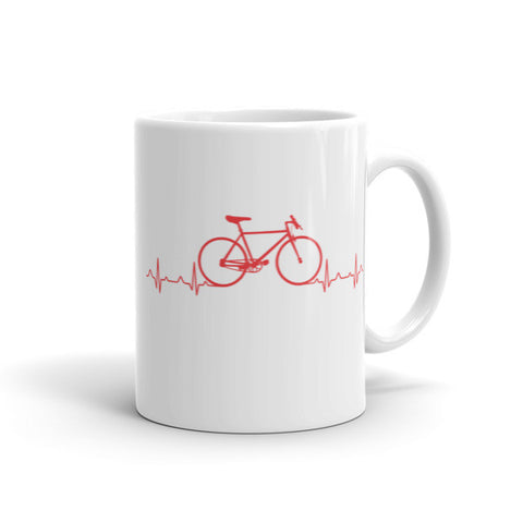Heart Beats - Cycling Coffee Mug