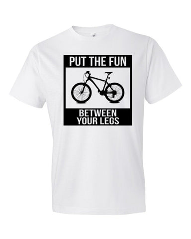 Short Sleeve Put The Fun Between Your Legs T-Shirt