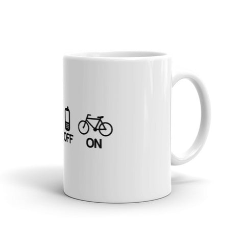 Off, Off, Off, On - Cycling Coffee Mug