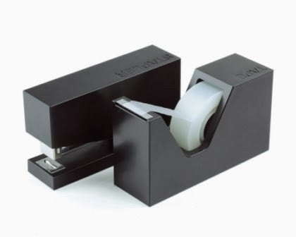 Buro Stapler and Tape Dispenser Set