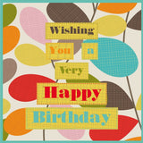 Designed Birthday Card