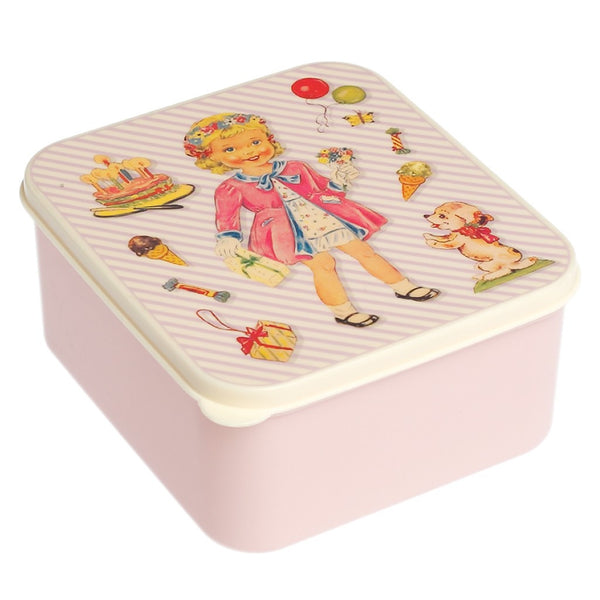Dress Up Dolly Lunch Box