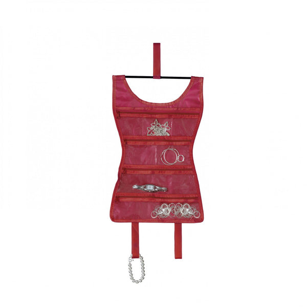 Mini Little Red Dress Jewelry Organizer