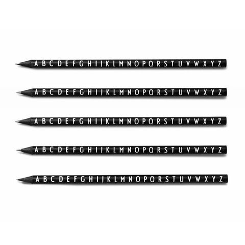 Design Letters Pencil Set