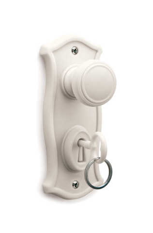 Doorman - Key Holder & Hook (White)