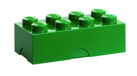 Lego Storage / Lunch Box- Green