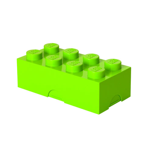 Lego Storage / Lunch Box- Lime