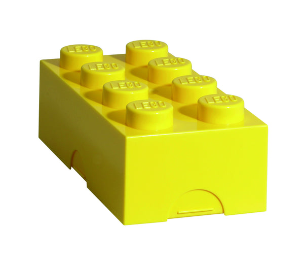 Lego Storage / Lunch Box- Yellow