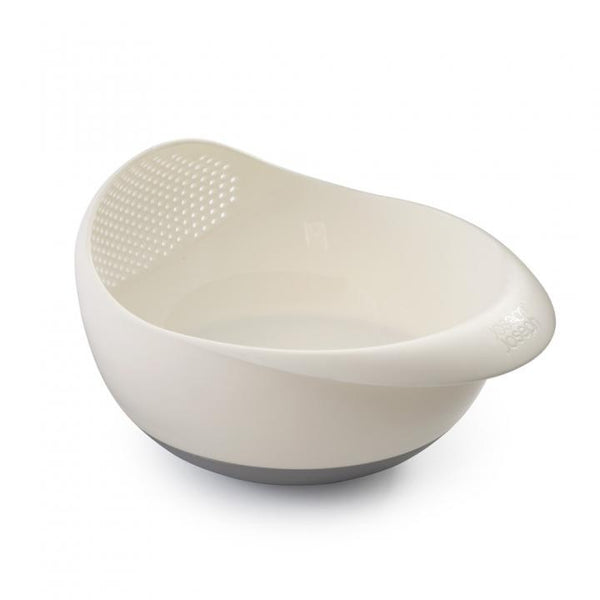 Multi Function Integrated Colander White