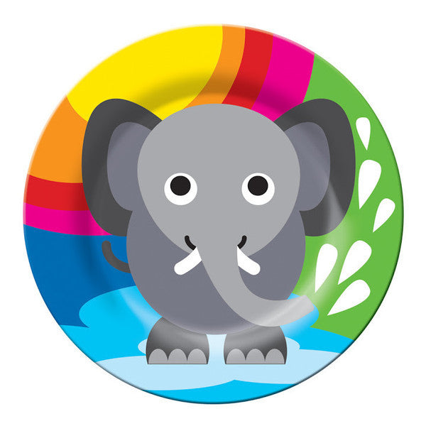 Jungle Kids Plate- Elephant
