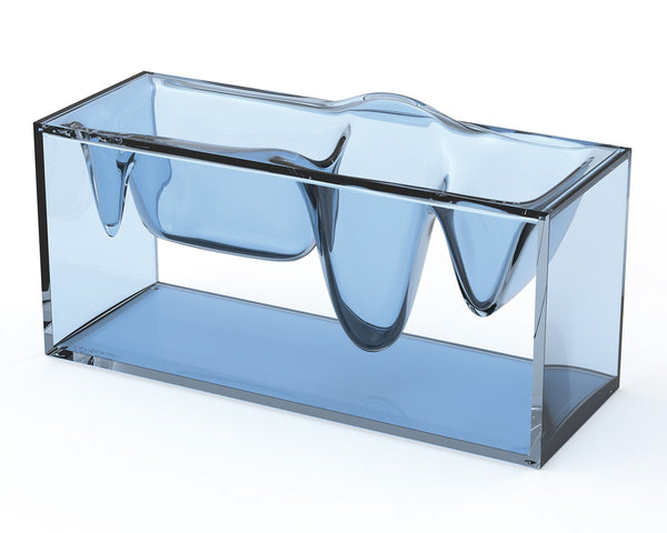 Liquid Station Desktop Organizer (blue)