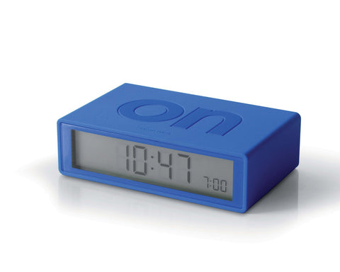 FLIP Alarm Clock (blue)