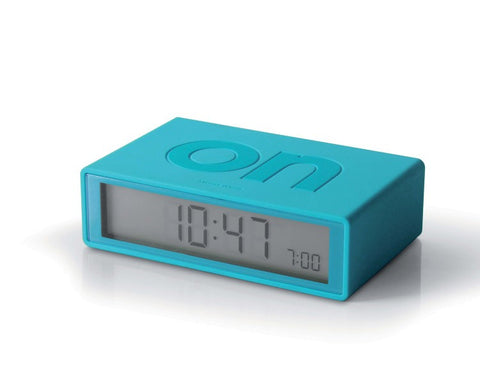 FLIP Alarm Clock (light blue)