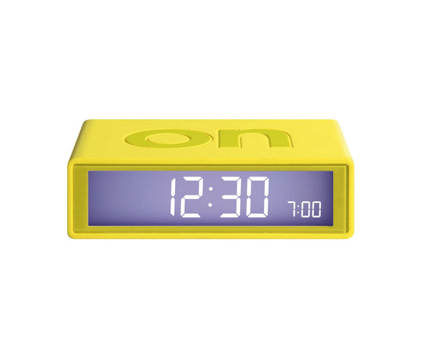 FLIP Alarm Clock (yellow)