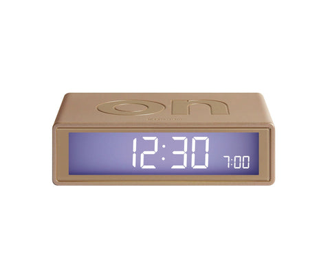 FLIP Alarm Clock (gold)