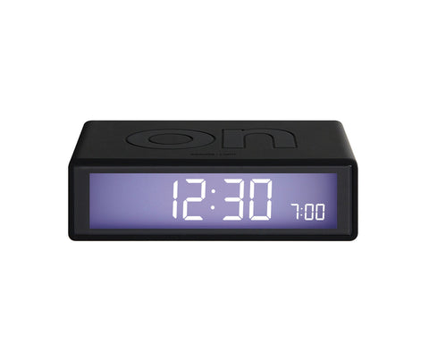 FLIP Alarm Clock (black)