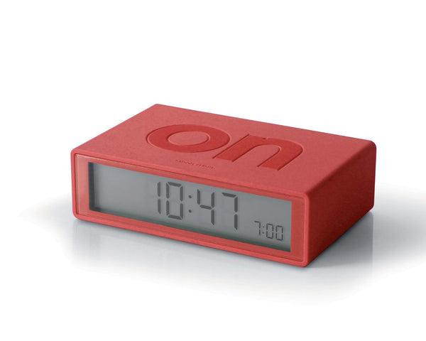 FLIP Alarm Clock (red)