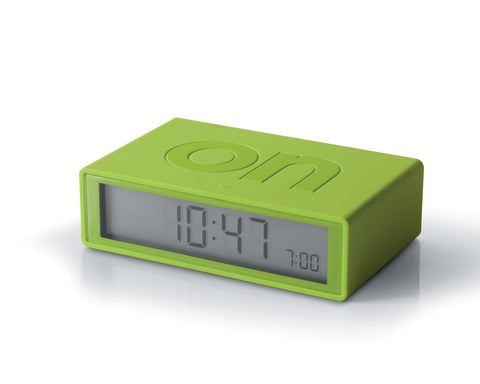 FLIP Alarm Clock (lime)