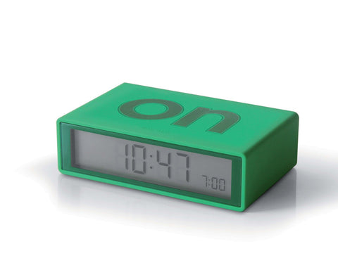 FLIP Alarm Clock (green)