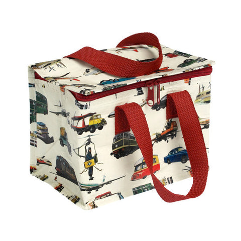 Vintage Transport Design Lunch Bag
