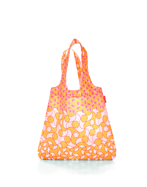 Reisenthel Mini Maxi Shopper Orange Geometric
