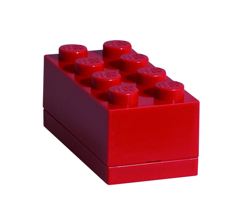 Mini Lego Storage Box- Red