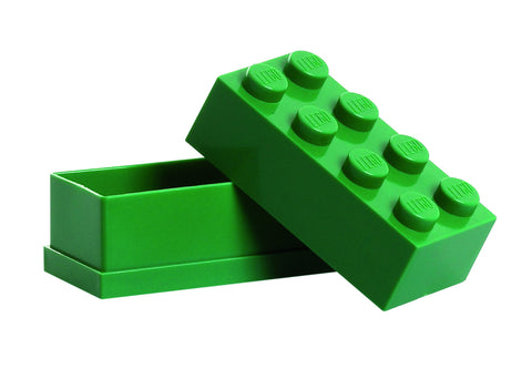 Mini Lego Storage Box- Green