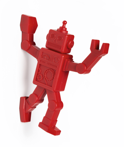 Robohook - Magnetic Hanger (red)