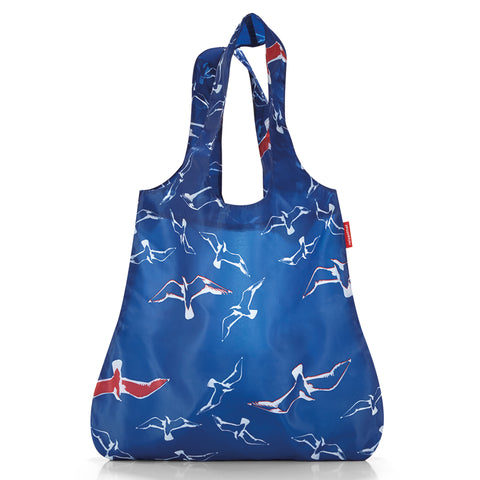 Reisenthel Mini Maxi Shopper Birds Blue